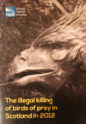 RSPB Crime report Scotland 2012